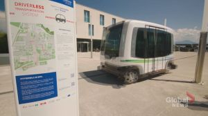 Calgary launches pilot of driverless shuttle