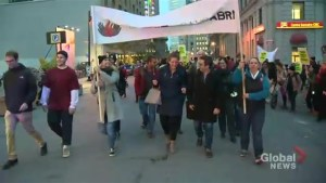 29th Night of the Homeless marches through Montreal