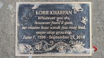 Stolen memorial plaque leaves grieving Calgary family in disbelief
