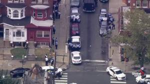 Police, SWAT surround building in Philadelphia after 6 officers injured in shooting