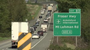 Abbotsford mayor calls to widen Highway 1 beyond Langley