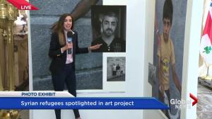 Photo exhibit for Syrian refugees