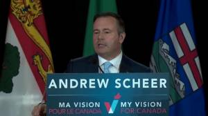 Kenney thanks Scheer for commitment to scrap the federal carbon tax