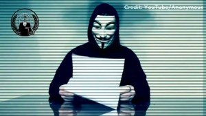 Anonymous releases new video declaring 'total war' on Donald Trump