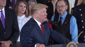President Trump: Drugs are bad