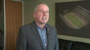 'It's time for someone else to come in': Edmonton Eskimos president, CEO Len Rhodes not seeking another term
