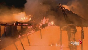 Several homes burned in Surrey construction fire