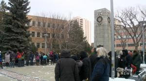 Saskatoon marks Remembrance Day 100 years after end of First World War