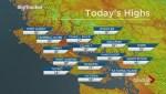 BC Evening Weather Forecast: Aug 25
