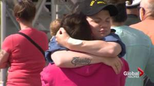 Tearful farewells to HMCS Charlottetown