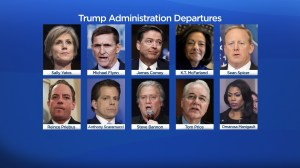 Comey, Spicer, Mooch and Omarosa: Trump officials who quit (or got fired) in 2017