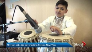 'The best day of my life': 10 year-old performs for Prime Minister at Nowruz event in Toronto
