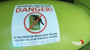 West Vancouver clothing bin ban to be in place until safer design is found