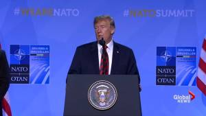 Trump has 'no doubt' that Canada, NATO allies will increase defence spending