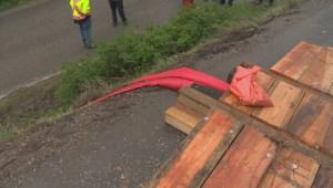 Killiney Beach landslide update