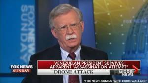 No U.S. government involvement in Venezuela drone blast – John Bolton