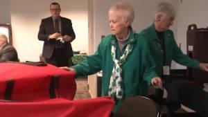 Freda Coyle retires from the Kingston Frontenacs