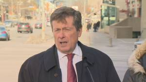 Mayor Tory outlines new plan to battle city's gridlock