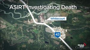 Man dead after confrontation with RCMP near Whitecourt