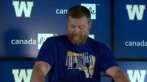 RAW: Blue Bombers Mike O'Shea Media Briefing – Aug. 14