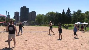 Montreal beach volleyball tournament raises money for youth sex ed