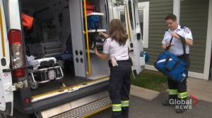 N.B. paramedics frustrated government won't reclassify them