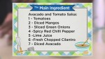 Avocado and Tomato Salsa with Salmon recipe from the Main Ingredient