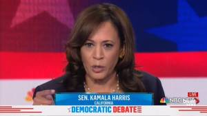 Democratic debate: Kamala Harris brings down house with ER story