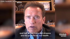 Arnold Schwarzenegger calls out Donald Trump over decision to back out of Paris Accord