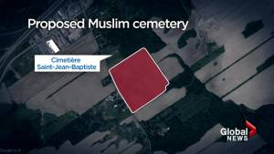 Making way for a new cemetery in Vaudreuil-Dorion (01:43)