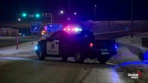 Fatal crash on Stoney Trail in Calgary Thursday