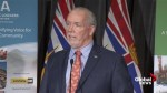 Premier Horgan on using wood waste for driving pulp and paper mills