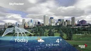 Edmonton early morning weather forecast: Thursday, September 13, 2018