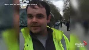 Witness describes scene shortly after 'terrorist incident' at Westminster Bridge