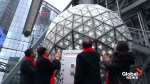 Times Square New Year's Eve ball tested ensure perfect timing