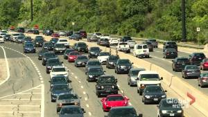 Heavy congestion on Don Valley Parkway expected starting Tuesday