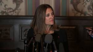 'Very good conversation': Freeland discusses meeting with Senate