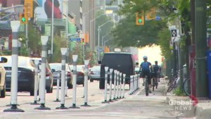 Tension runs high over Bloor Street bike lanes