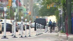 Tension runs high over Bloor Street bike lanes (01:50)