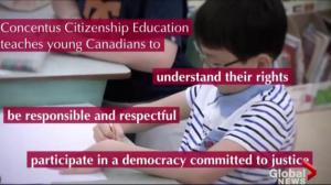 Concentus promotes good citizenship to Saskatchewan students