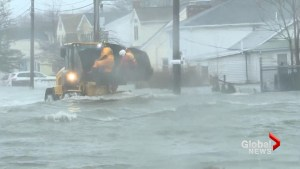 Nor'easter bringing torrential flooding to coastal parts of Massachusetts