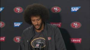 Colin Kaepernick addresses decision to kneel once again during playing of national anthem
