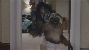 Do the Dew with Puppymonkeybaby; ad has viewers talking