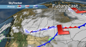 Saskatoon weather outlook: snow slides back in
