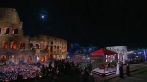 Pope Francis leads 'Way of the Cross' ceremony in Rome