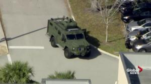 Tactical teams respond following possible school shooting in Florida