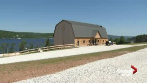 Bates Barn rebuilt but arson case remains unsolved