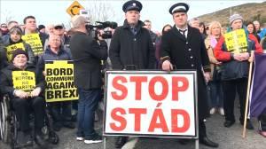 UK PM Johnson talks Brexit, Northern Ireland backstops