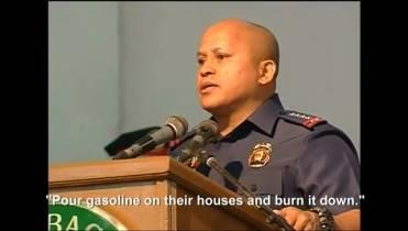 You can kill them': Filipino police chief tells drug addicts