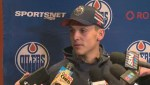 Oilers Matt Benning talks about heightened expectations from him this year